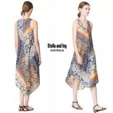 Boho Cotton Blend Dresses Midi