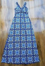 BODEN LADIES FLORAL JERSEY MAXI DRESS UK SIZE 8L BRAND NEW