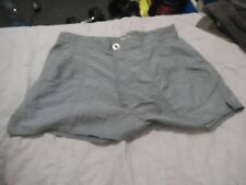 A1 Womans 1980s TENNIS shorts Fancy dress Hen Retro size 20 grey REEBOK
