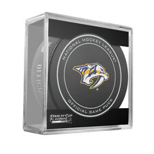 2016 NHL Nashville Predators Stanley Cup Playoffs Official On-Ice Hockey Puck