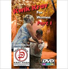 """KRAV MAGA just for Women"" 5 Disk Set, includes ""WORKOUT-KICKS-PUNCHES-& KRAV"