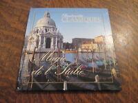 cd + livret instants classiques magie de l'italie