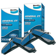 Bendix GCT Front and Rear Brake Pad Set DB1393-DB1721GCT fits Honda Odyssey 2...