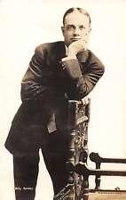 Billy Sunday Evangelist Real Photo Antique Postcard J65394