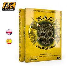 AK Interactive # 8000 FAQ DIORAMAS COMPLETE GUIDE BOOK FOR BUILDING DIORAMAS