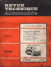 RTA revue technique automobiles N° 279-280 CITROEN DYANE 4 6 MEHARI