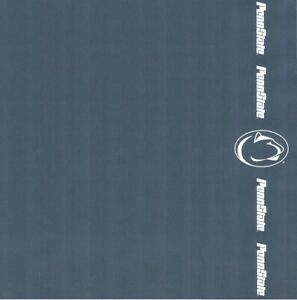 "Penn State University Nittany Lions NCAA Scrapbook Paper 12x12"" Sports Solution"