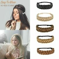NEW Lady Girl Braided Fairy Bohemian Braid Wig Wedding Beach hair band headband~