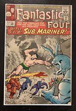 FANTASTIC FOUR #33 1st appearance ATTUMA Black Panther 2 1964 HTF  Submariner