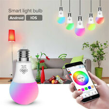 Dimmable Color Changing Bluetooth Smart Mesh RGBW LED Light Bulb 4.5W E27 LD1456