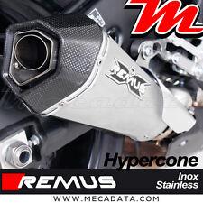 Auspuffanlage Topf auspuff Remus Hypercone edelstahl Yamaha MT-10 2017