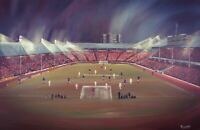 Rangers v Bayern Munich 1972 Cup Winners Cup -  A3 print