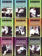 9 Dvd Set Shoshinshu Art of Aikido Kensho Furuya Complete Martial Arts Course