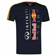 Puma Mens F1 RedBull Racing Infiniti Total Eclipse Logo T-Shirt Crew New M