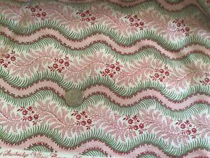 Vintage Cotton Repro 1800s Dress Fabric 8+ Yards  •  Reenactor