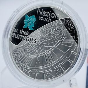 2009 LONDON 2012 OLYMPIC GAMES BIG BEN PROOF £5 COIN CROWN COIN & CERTIFICATE