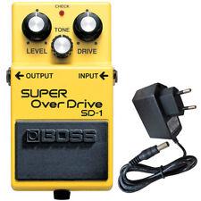 Boss SD-1 Super Overdrive Pedal + Keepdrum Netzteil 9V