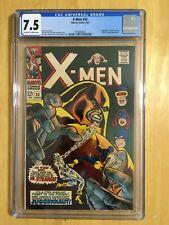 X-MEN #33 CGC 7.5 (Marvel 6/1967) JUGGERNAUT / DOCTOR STRANGE Appearances