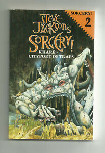 PUFFIN - STEVE JACKSON'S SORCERY, #2 KHARE-CITYPORT OF TRAPS (1984 1st edition)