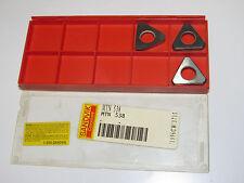 3 new SANDVIK Coromant MTN 538 Carbide Shim Insert Seats for Tool Holder