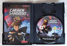 Playstation 2 Carmen Sandiego The Secret Of The Stolen Drums Pal 1 Pal 2