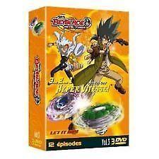 23613/COFFRET 3 DVD BEYBLADE METAL FUSION SAISON 1 VOLUME 3 - 3 DVD 7-8-9 - NEUF