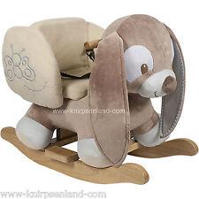 Nattou Schaukelpferd Schaukeltier Plüsch Schaukel Pferd Schaukelspielzeug Hase