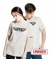 Unisex Men Women Couple Graphic Active Sports Fashion Comfort Cotton T-Shirt Tee
