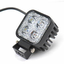 12W IP67 LED Work Light Flood 12V/24V Car Truck Off Road ATV JEEP Boat Lamp AB