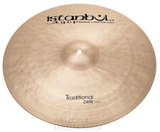 """Istanbul Agop 22"""" Traditional DARK Crash 2,039g (DC22) IN STOCK - FREE SHIPPING"""