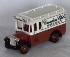 Die-cast Lledo Days Gone DG034009 1934 DENNIS Delivery Cansdian Club Whisky Van