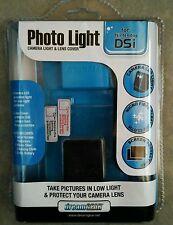 Dreamgear DGDSI Photo Light Camera Light Lens Cover for Nintendo DSi Blue