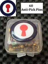 Lock Sport locksmith anti-pick pins pinpot 60 pins 1st P&P inc
