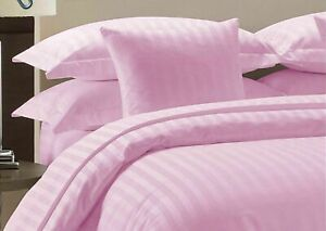 Attached Waterbed Sheets 1000 Count Pink Striped Egyptian Cotton Sheets