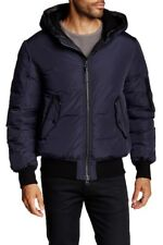 NEW Mackage Arto Genuine Leather Down Jacket Ink Men's 42 $690