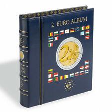 Phare Münzalbum VISTA, pour 2-pièces en euros, incl. 4 Vista, münzblättern