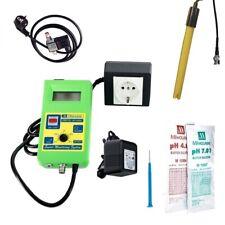 Milwaukee pH Controller sms-122 incl. electrodo, soluciones y válvula de solenoide de