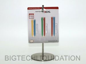 Insignia 3DS Multicolor Styluses for New Nintendo 3DS XL, 3DS XL and 2DS 6-Pack