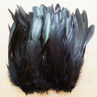 Wholesale 50/100pcs Chosen Colorful Rooster Tail Feather 6-8inch/15-20cm