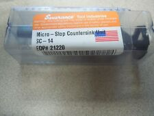 Severance Tool Industries Inc Sc 14 Unit Micro Stop Counter Sink