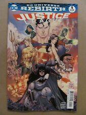 Justice League #1 DC Comics Rebirth 2016 Series 9.6 Near Mint+