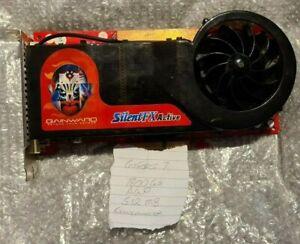 Gainward Silent FX 7800GS 512MB GeForce7 Nvidia last ever AGP Series