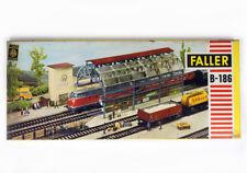 Vintage FALLER B-186 B186 HO H0 KIT Station Platform