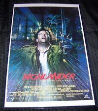 Highlander 11X17 Movie Poster Christopher Lambert Connery
