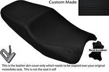BLACK STITCH CUSTOM FITS HONDA CB 1300 06-10 DUAL SEAT COVER ONLY
