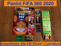 Panini FIFA 365 2020 Alle 448 Sticker komplett + Leeralbum Komplettsatz Football