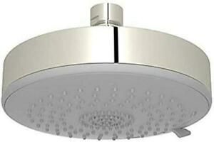 """Rohl WI0195PN Dinamic 5 1/2"""" Diameter Abs Showerhead in Polished Nickel"""