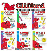 Write with Clifford the Big Red Dog,Draw,Count,Trace,Color & Match with Clifford