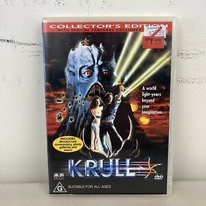 Krull DVD Region 4 VGC + Free Postage