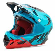 Fly Racing 2017 Adult Werx Ultra MTB Downhill BMX Helmet - Blue / Red / Black